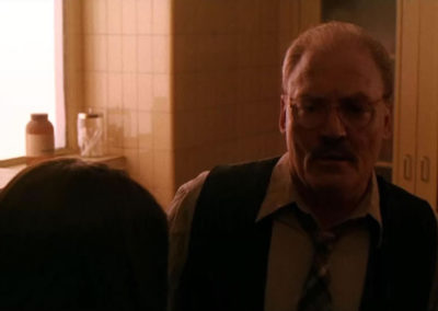 Stacy Keach in Children of the Corn 666: Isaac's Return
