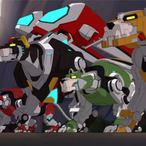 The New Lions of Voltron
