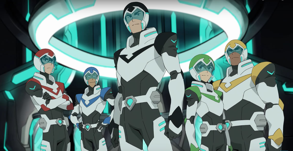 The Paladins of Voltron: Legendary Defender