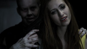 The Ghost and Arielle Brachfeld from The Haunting of Whaley House