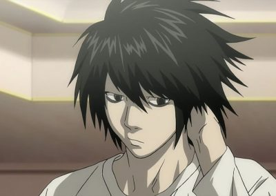 L the Investigator from Death Note